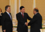 President of Turkey, President of Turkmenistan and Burc Group Chairman